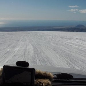 glacier Eyjafjallajokull
