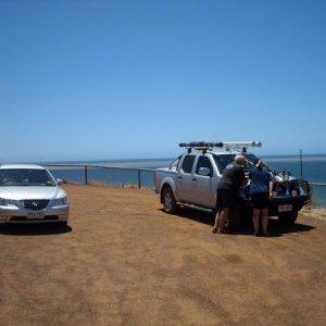viewing fishing locations at Kanagroo Island