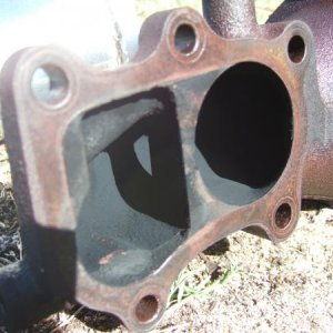 Nissan Dump pipe