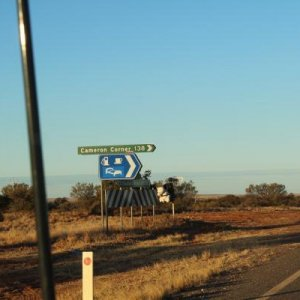 Turn Off from Tibooburra