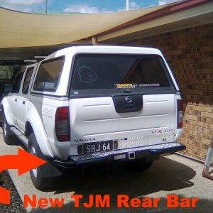 new TJM Rear Bar