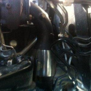 Exhaust 01 dump pipe