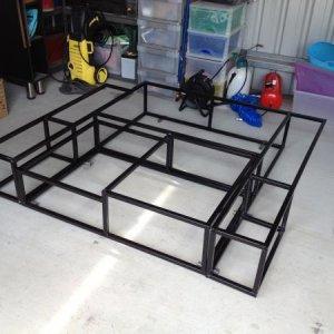 Frame made of welded 20mm SHS