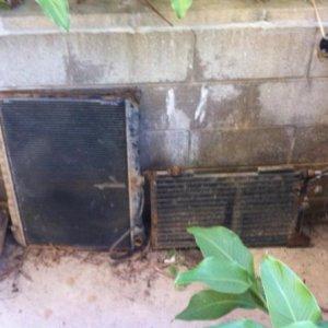 radiator< condensor>
