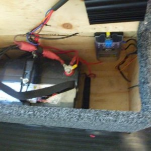 Battery & fuse box
