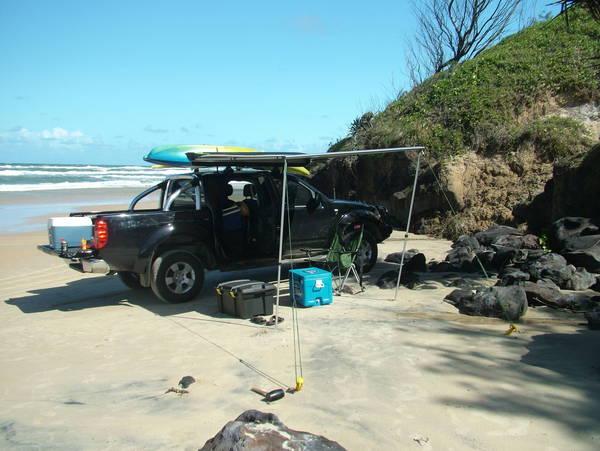 Black Velvet - Yidney Rocks  Fraser Island