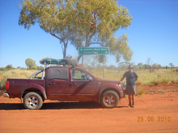 At the Tanami junction