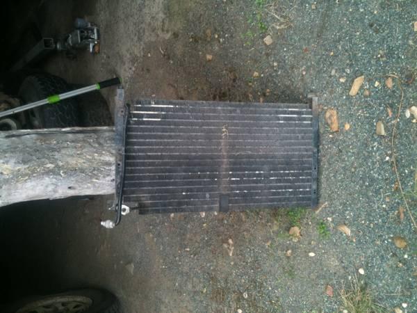D21 Terrano a/c radiator