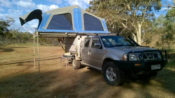 Flinders Camping with the D22
