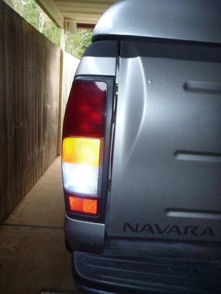 SMD Led tail light and Indicator on.