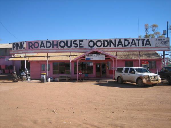 Pink Roadhouse Oodnadatta