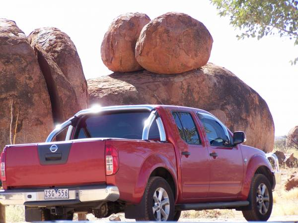 My new 25th anni at Devils Marbles
