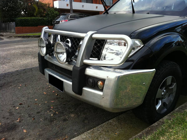 Wanted D40 front bar will swap for Nissan aluminium front bar.
