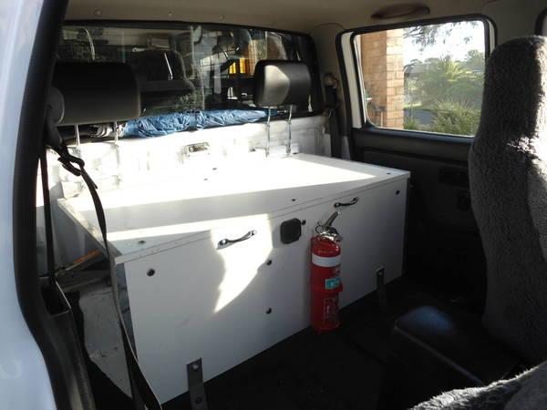 back seat storage
