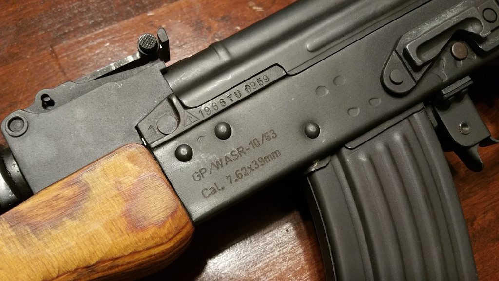 FS: Romanian WASR 10/63 package For Sale | Old Ads