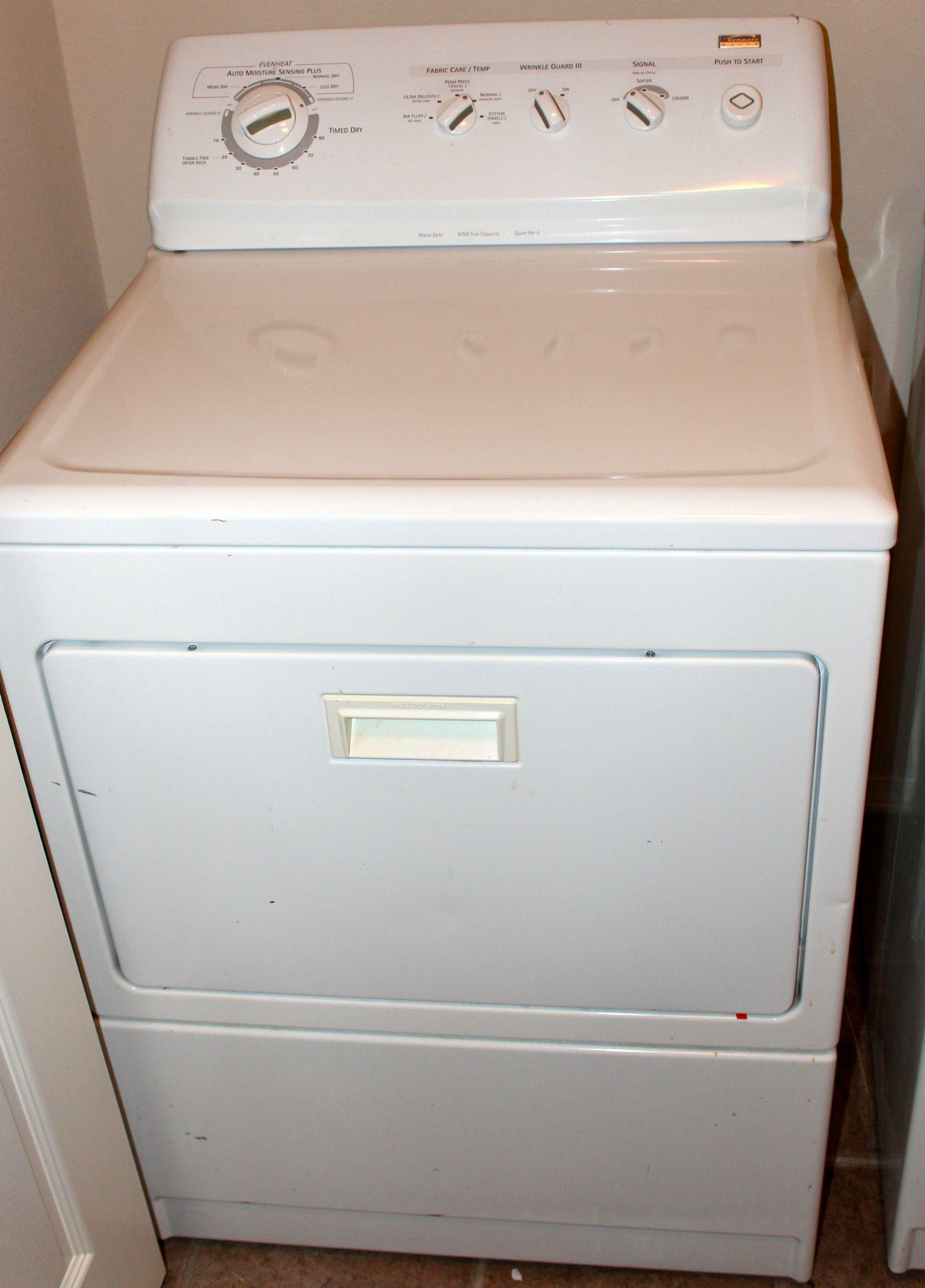 kenmore elite dryer. kenmore elite top load washer front dryer pair e