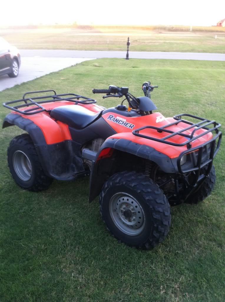 Cheap Atv For Sale >> 2000 Honda rancher 350 | Oklahoma Shooters