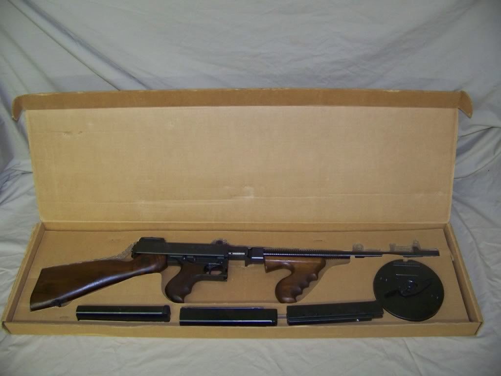 Auto Ordnance Thompson 1927 A-1 Deluxe   Oklahoma Shooters