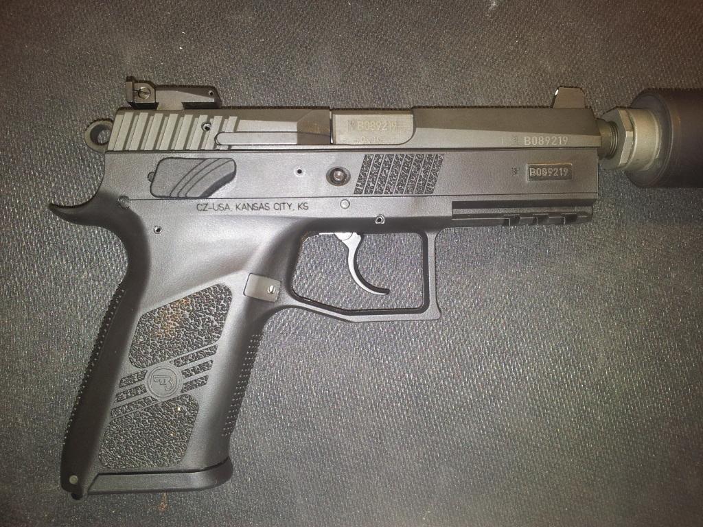 CZ P07 9mm- Threaded barrel version  New in the box