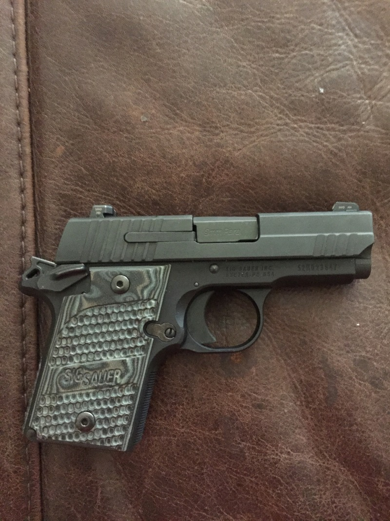 Handguns: Sig P938, Walther P22, Springfield XDM | Oklahoma