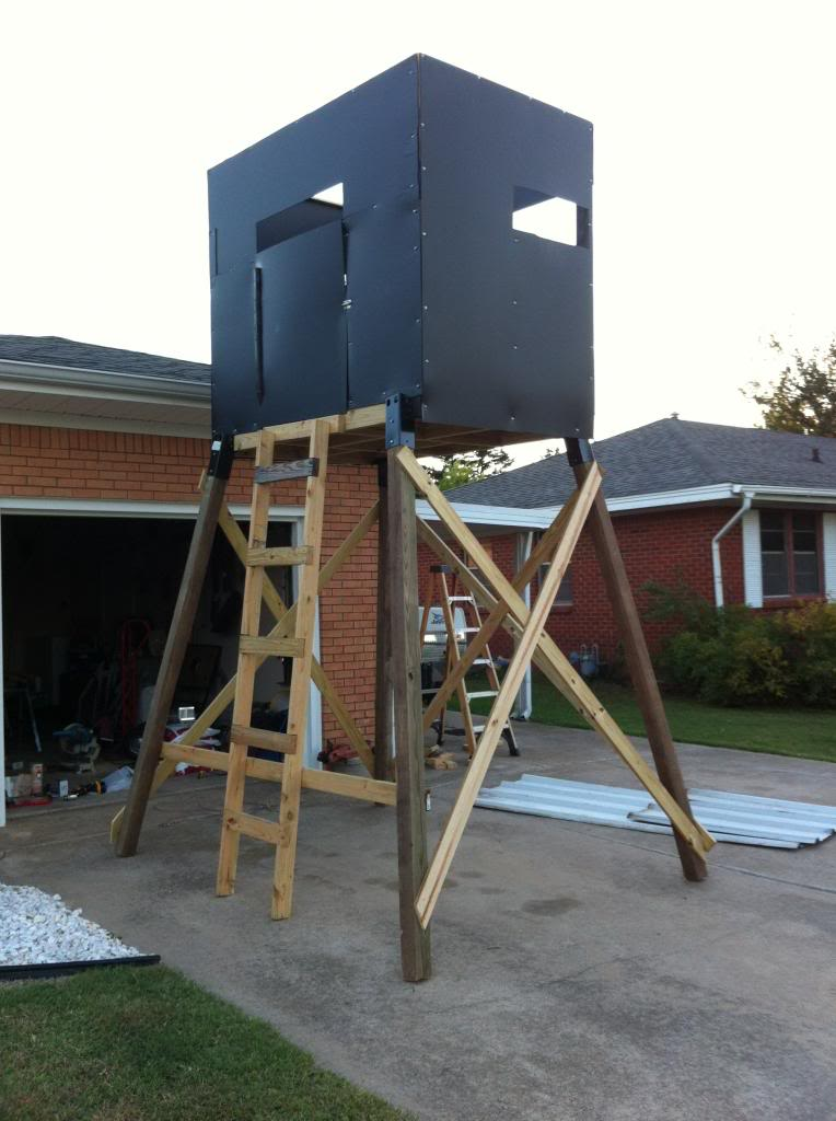 Built A Tower Blind With Elevators Oklahoma Shooters
