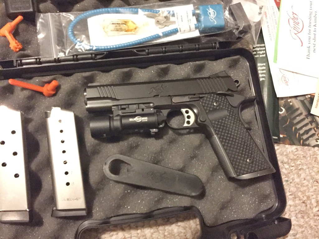 Kimber Warrior 1911 w/ Surefire X300 and extras For Sale or Trade