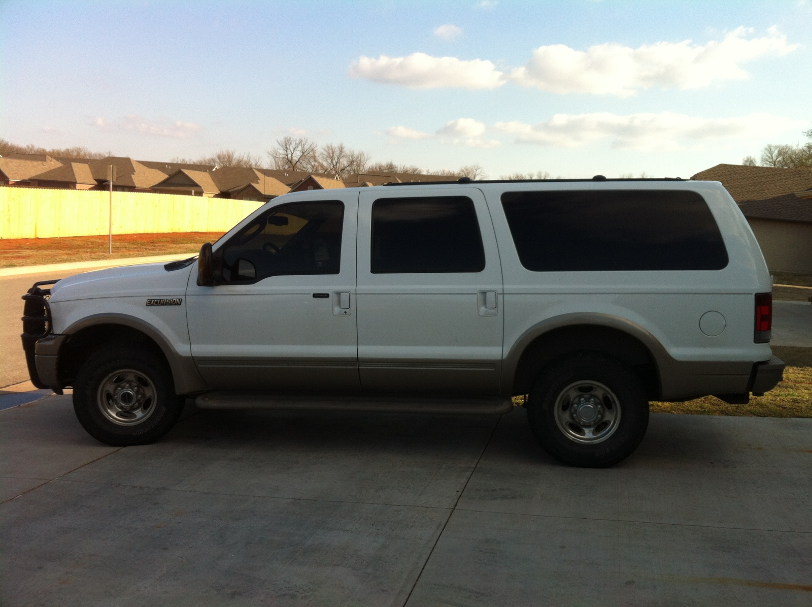 2005 ford excursion diesel 4x4 low mileage oklahoma shooters. Black Bedroom Furniture Sets. Home Design Ideas