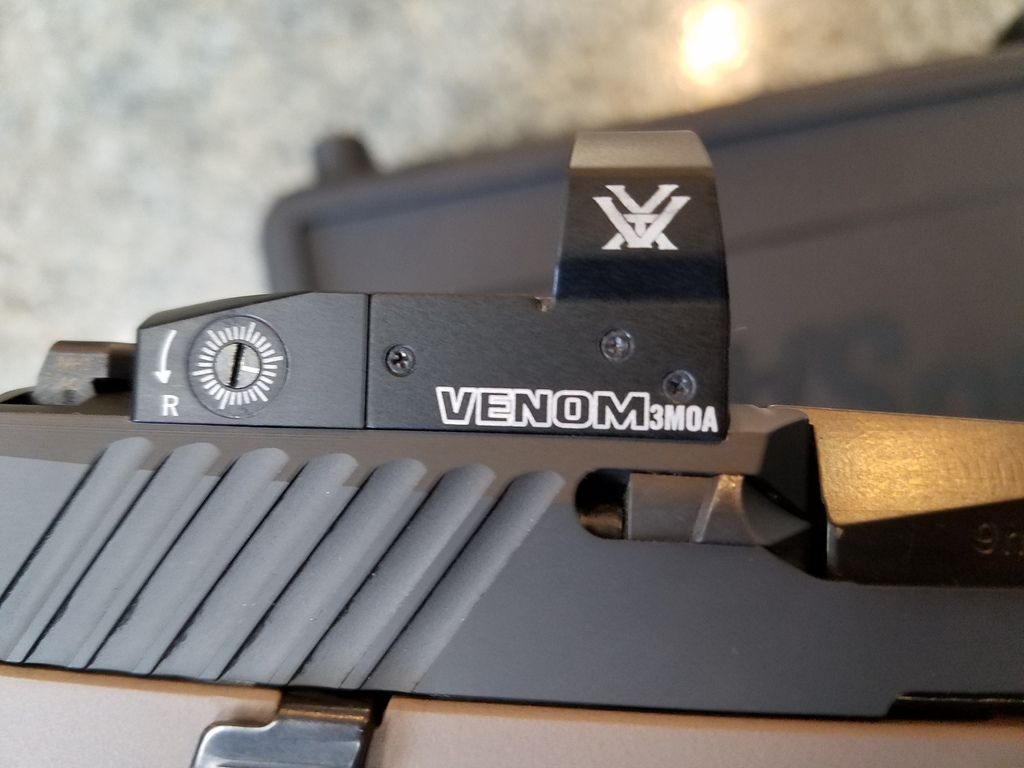 Sig 320 with milled slide | Oklahoma Shooters