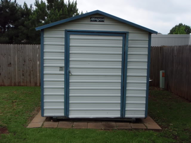 Wts Used Morgan Storage Shed Building Oklahoma Shooters