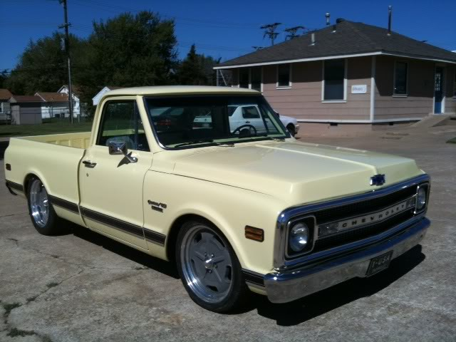 1969 chevy short wide, show truck, frame off restored ...