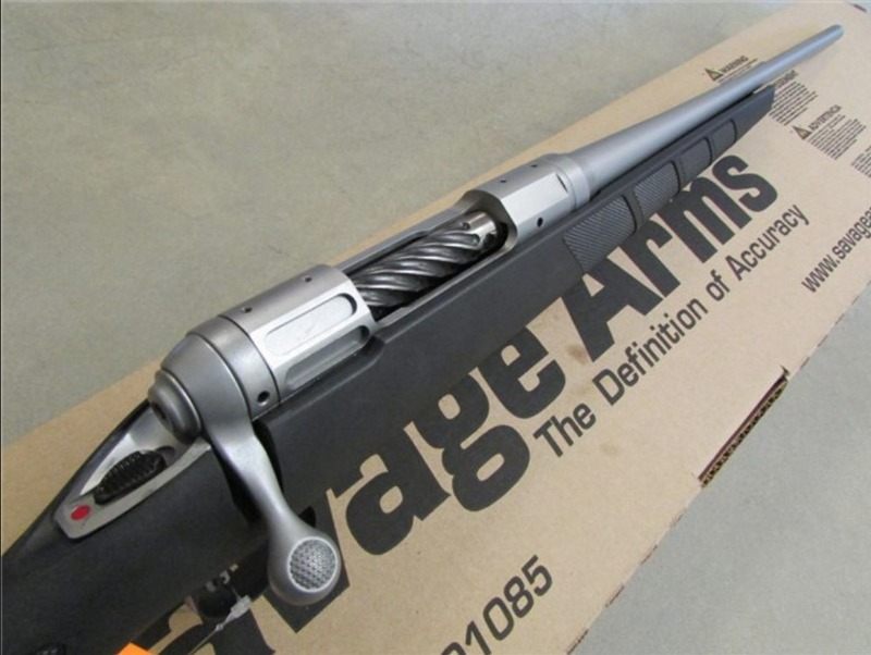 Savage Lightweight Hunter 243 Stainless Steel For Sale | Old
