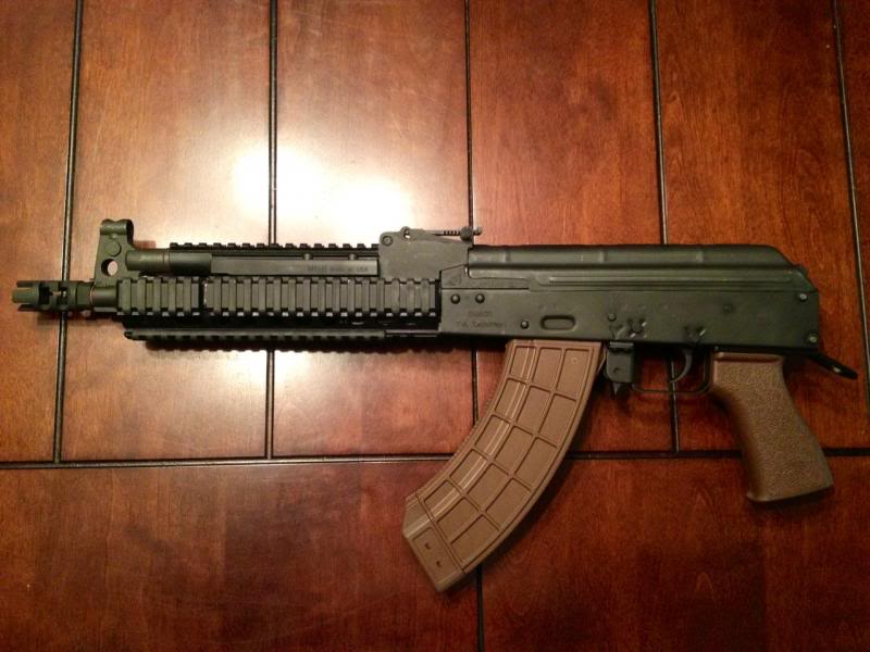 Ultimak Compact lower & upper rail for Draco or similar   Oklahoma