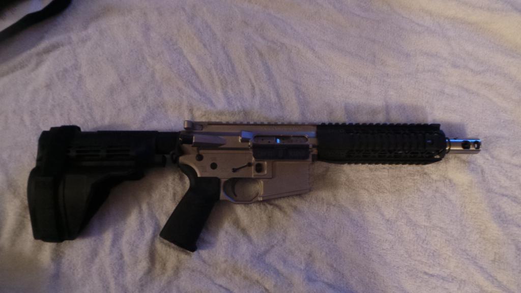 More Black Rain Pistols in stock     308 Upper/Lower set