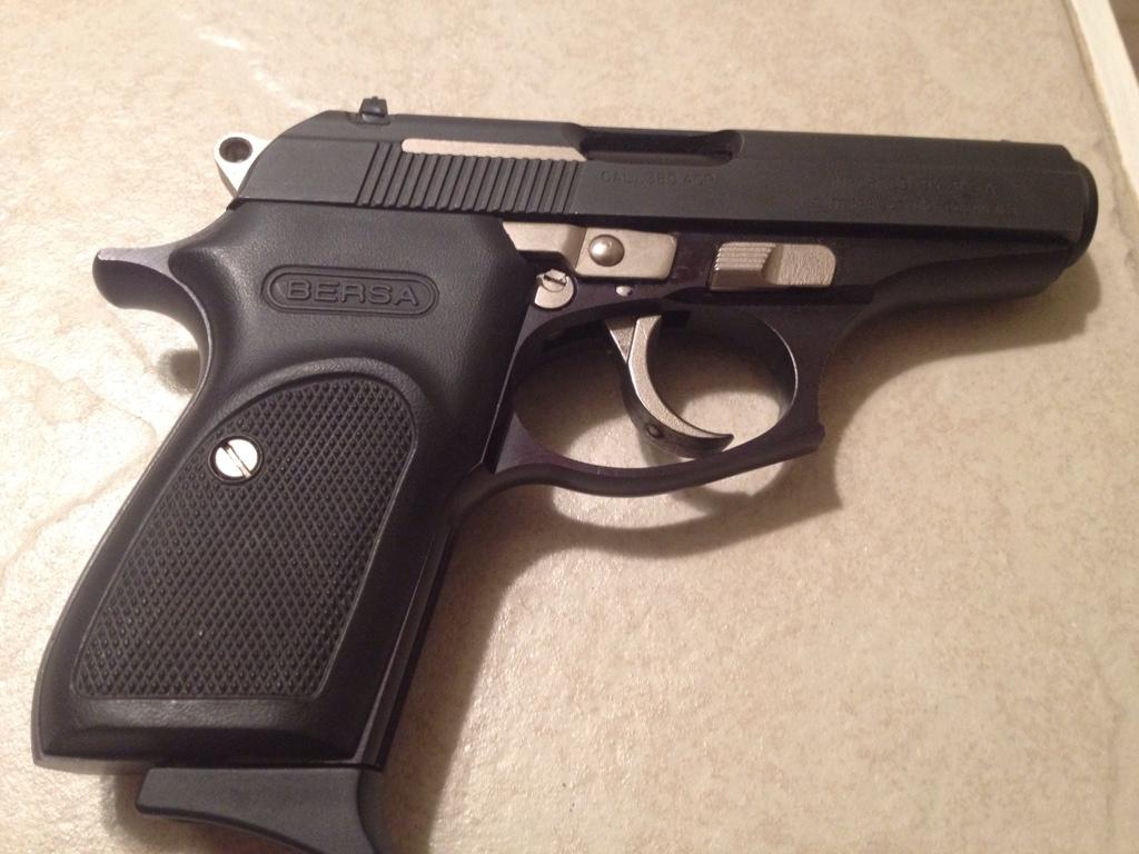 Savage 7mm mag and Bersa 380 | Oklahoma Shooters
