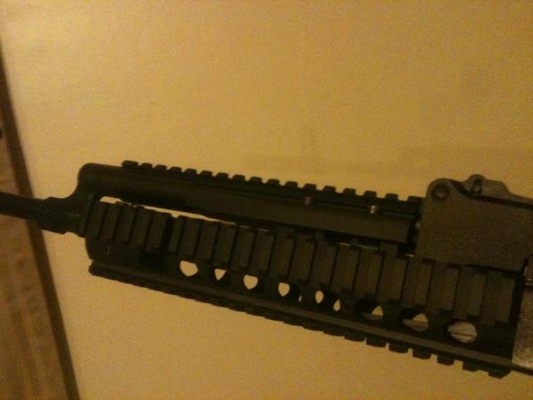 Saiga 5 56x45 w/ AR mag adapter:   Oklahoma Shooters