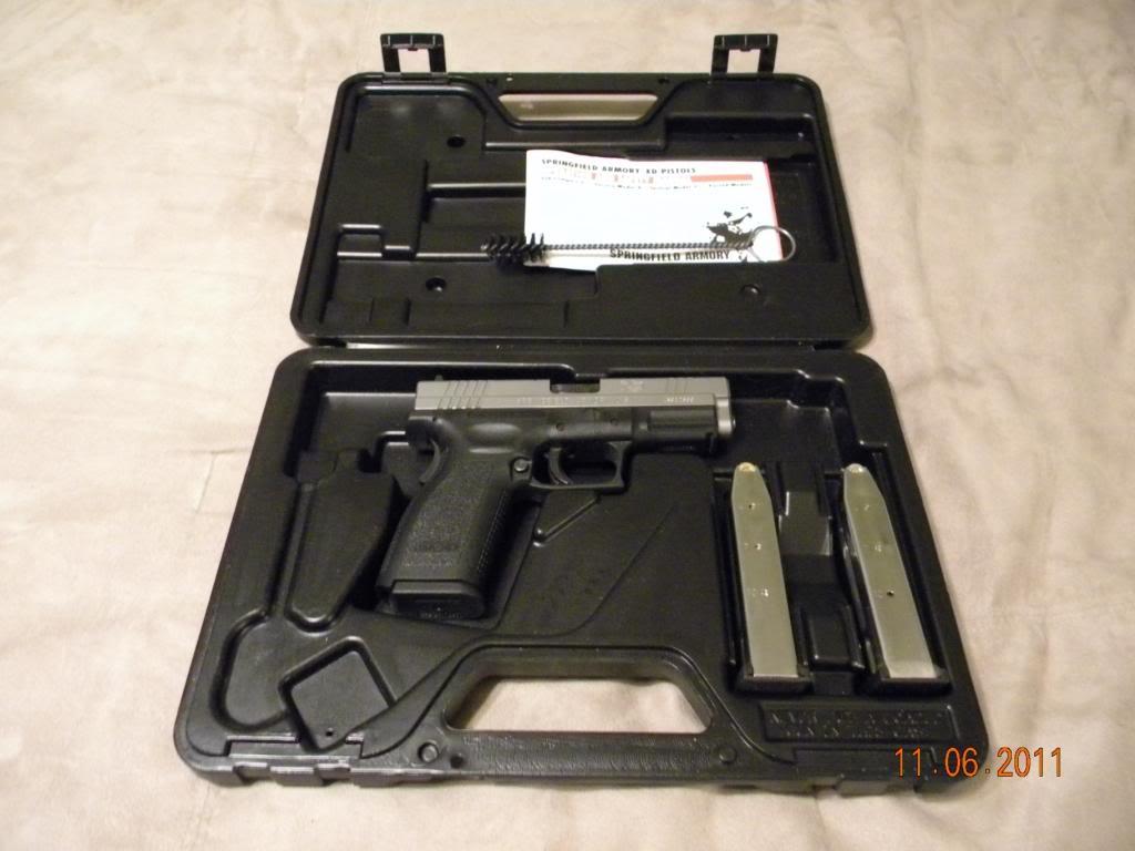 Springfield XD 9mm Bi-Tone 4