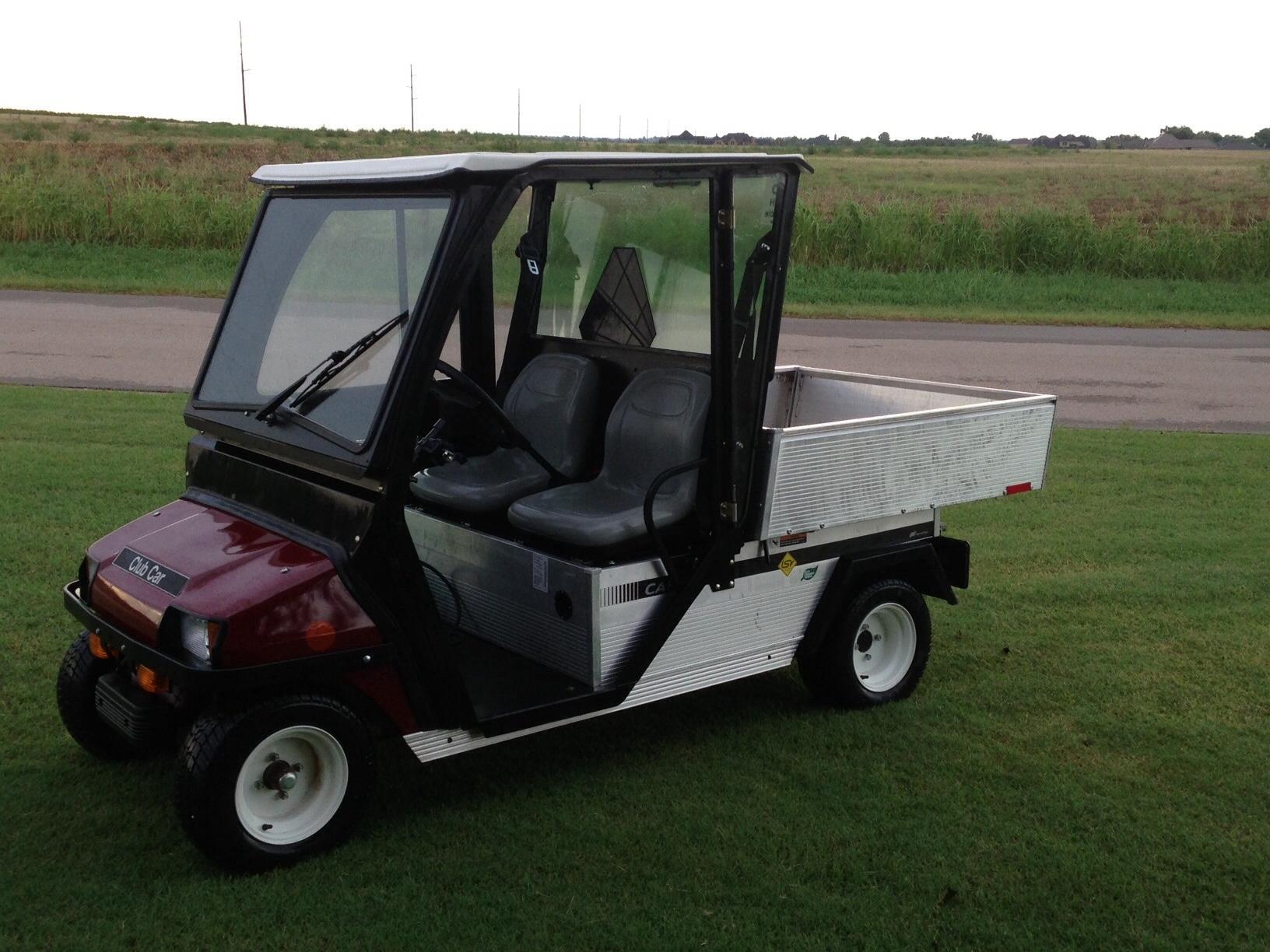 2010 Club Car Carryall 2 Lsv Oklahoma Shooters