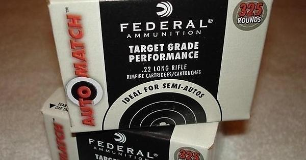 Federal automatch 22lr 325rd boxes for sale old ads for T and d motors bethany ok