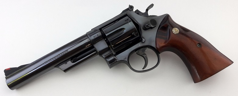 Smith & Wesson Model 25-5 with German Proof Marks   Oklahoma Shooters