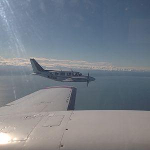 Wildman Navajos over Alaska
