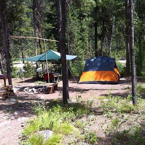 Our Campsite at Johnson Creek