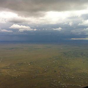 Huge Thunderstorm Over Denver