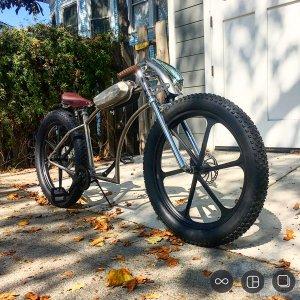 Custom fat tire build