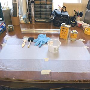 Work Surface - Prepped