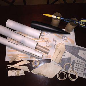 Prototype parts with Original