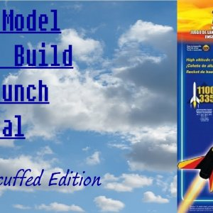 """How to build and launch the Estes """"Taser"""" Model rocket"""