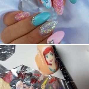 Disney nail art by Dorota Palicka