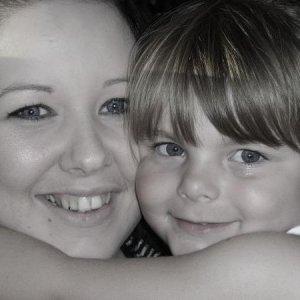 Mummy and Tiegan