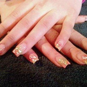 Kim's Valentines Nails