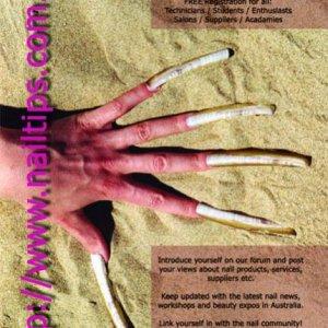Our First Nail Tips Flyer for the website www.nailtips.com.au